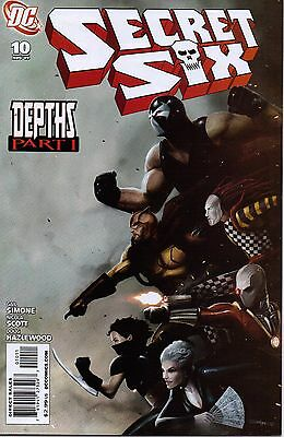 Secret Six #10-36 Lot/Gail Simone/Nicola Scott/John Ostrander/J. Calafiore/DC