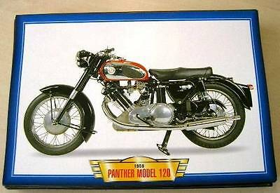 Panther Model 120 650 Vintage Classic Motorcycle Bike 1950's Picture Print 1959