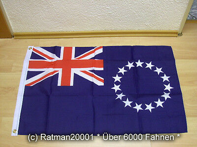 Fahnen Flagge Cookinseln Cook islands - 60 x 90 cm