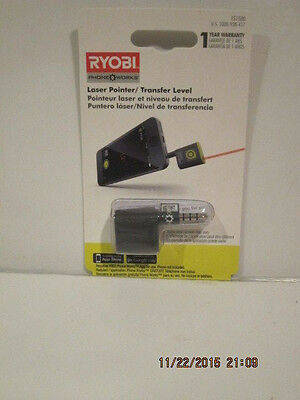Ryobi ES1500 Cell Phone Smartphone Works Laser Pointer/Transfer Level
