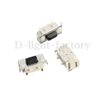 100x 3x6x3.5mm Tact Tactile Push Button Switch SMD Surface Mount Momentary 2 pin