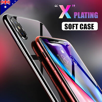 iPhone XS X 8 7 6S Plus Case for Apple Crystal Clear Ultra Slim Soft Gel Cover