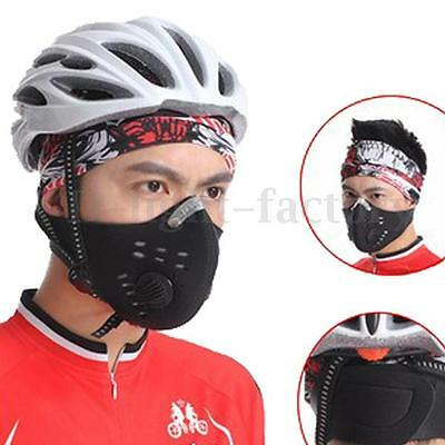 Anti Dust/pollution Motorcycle Bicycle Cycling Bike Ski Half Face Mask Filter