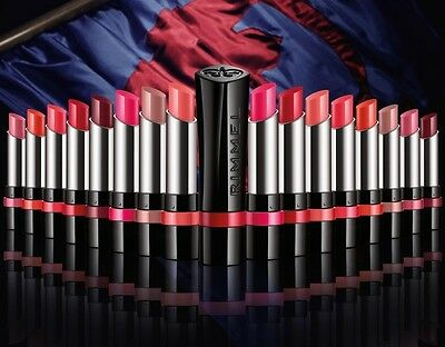 Rimmel London The Only One lipstick new choose from 8 great colours high shine