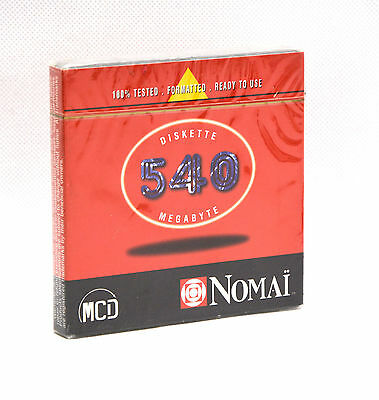 Nomai 540 Mb 540Mb 35400021 Diskette Removable Wechselkartusche Cartridge #h58