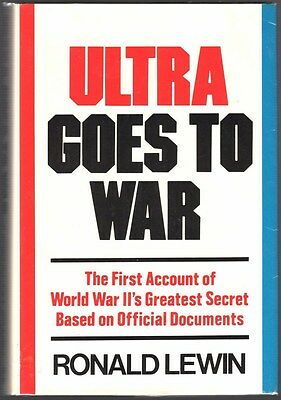 Military Book:  Ultra Goes to War - Braking the German Military Code in WWII