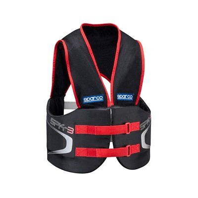 SPARCO 002412NR3 SPK-3 Rib Protector - Large