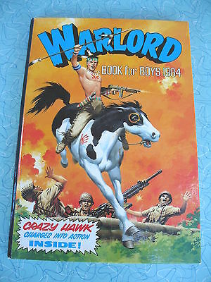 D C Thomson  Warlord Book For Boys  1984