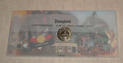 Sealed Envelope Disney Disneyland Critter Country Commemorative Collector Card