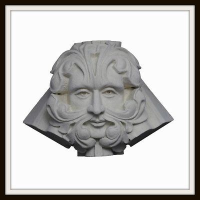 The Woodchester Mansion Green Man ~ Greenman Wall Plaque ~ Garden / Home Uk Made