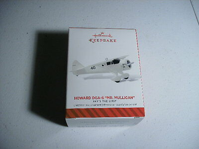 2014 Hallmark Ornament HOWARD DGA-6 Mr. Mulligan 18th in Sky's The Limit Series