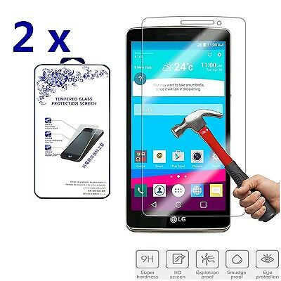 2x For LG G Stylo Premium Tempered Glass Screen Protector Film Shield 0.3mm 2.5D