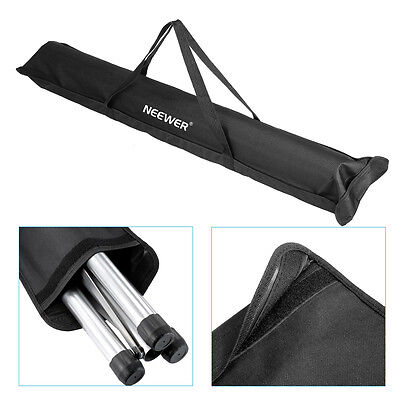"""Neewer Black 42.5"""" Durable Tripod Speaker Stand Carrying Bag with Two Straps"""