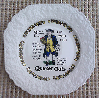 Lord Nelson Pottery - Quaker Oats - The Work Food Plate