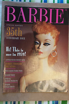 BARBIE - Special Edition 35th Anniversary Issue Magazine, 1994. 16 pages