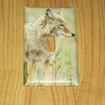 Wild Game Animal Coyote Light Switch Cover Plate #4