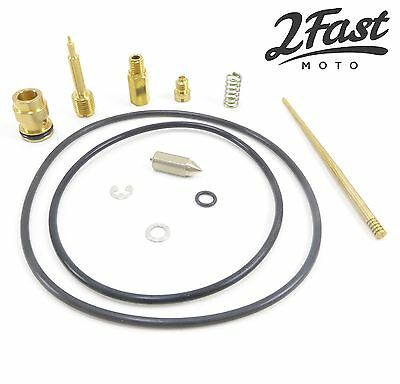 Honda Carburetor Rebuild Carb Repair Kit XL350 XL350K XL 350 K1 K2 XL350K1 NEW