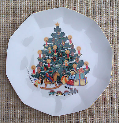 KAISER of WESTERN GERMANY CHRISTMAS PLATE.