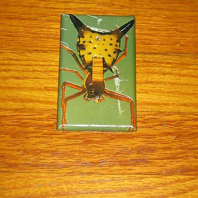 Classic Arrowhead Shaped Spider Light Switch Cover Plate