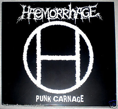Haemorrhage - punk carnage, Slipcase CD, limited edition, Neuware