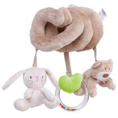 Hotsell Animal Baby Activity Spiral Cot Toy Rattle Pram/Car Seat/Stroller Gift S