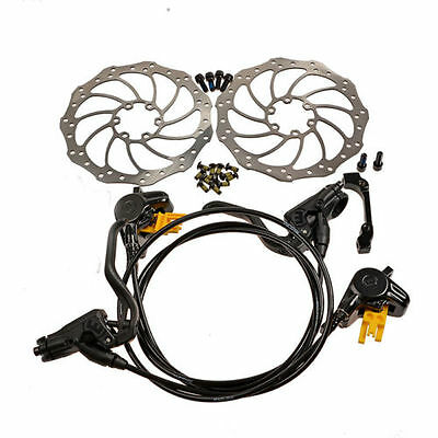 MAGURA MT2 Hydraulic Brake Set Front & Rear with Storm 160mm Rotors