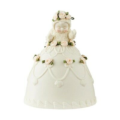 Snowbabies - Baby Cakes  Birthday Wish Figurine