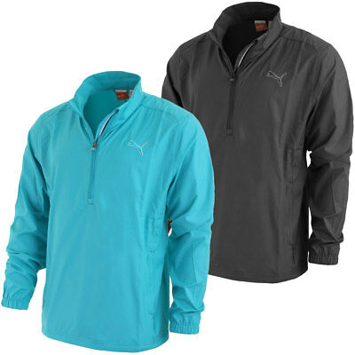 Puma Golf AW13 Mens 1/2 Zip Wind Jacket Lightweight Wind Cell Breathable Coat