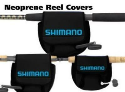 Shimano Neoprene Stradic Stella Spinning Reel Cover Small Size ANSC830A Black