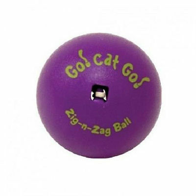 Our Pets Go Cat Go Zig N Zag Ball 1 Pack Exercise Interactive Free Shipping Usa