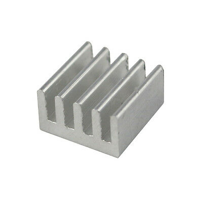 10PCS Aluminum Heat Sink for StepStick A4988 IC  8.8*8.8*5mm AA