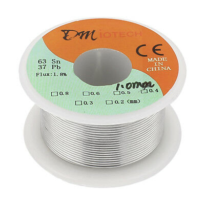 1mm 63/37 Rosin Core Flux 1.8% Tin Lead Roll Soldering Solder Wire Reel
