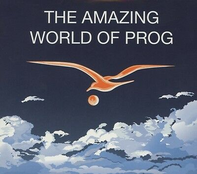 Various-The Amazing World Of Prog-Cd (2) Immaginifica Neu