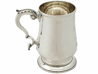 Sterling Silver Pint Mug, George III