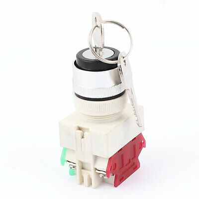 NO/NC Type ON-OFF 2 Position Security Key Lock Rotary Switch