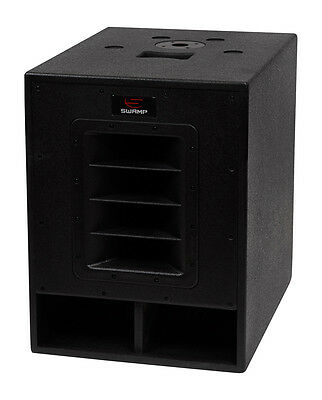 """SWAMP 500W RMS / 1000W MAX - 15"""" Active SUBWOOFER / Powered Sub - 15 inch"""