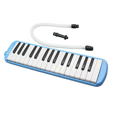 32 Key Plastic Melodica Keyboard Mouthpiece Harmonica +Bag Gift for Students