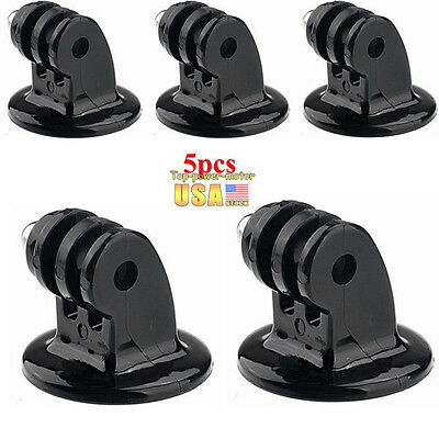 5 piece Tripod Monopod Mount Adapter For GoPro HD HERO 1 2 3 4Camera Accessories
