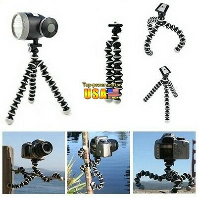 Mini Flexible Tripod Bubble Octopus Stand Gorilla Pod Go-pro Camera / SLR / DV