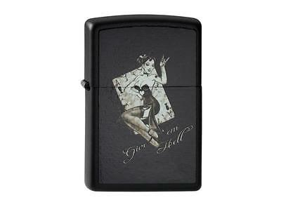"ZIPPO ""UL 13 GIVE EM HELL"" BLACK COLOR LIGHTER /2003771 ** NEW in BOX **"