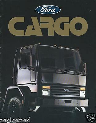 Truck Brochure - Ford - 6000 7000 Cargo - c1985 (T1247)