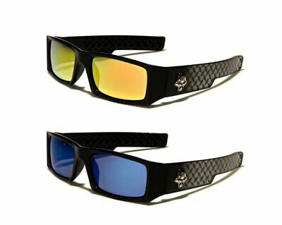 New Men's Locs Gangster Style Hardcore Shades Sport Motorcycle Biker Sunglasses.