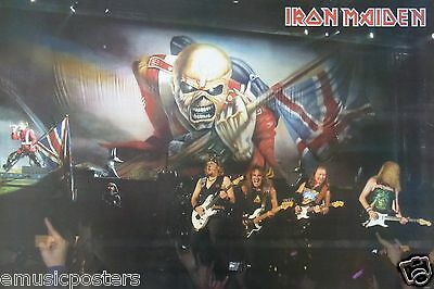 """IRON MAIDEN """"GUITAR JAMMER IN CONCERT"""" POSTER FROM ASIA -Heavy Metal Music"""