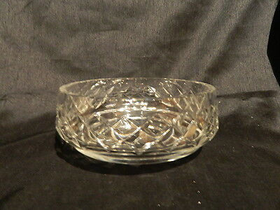 Edinburgh Crystal Cut Cross/diamond Master Bowl