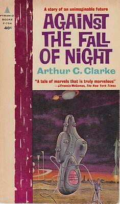 Clarke Against The Fall Of Night Science Fiction Pyramid 1962 Vintage paperback