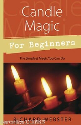 Candle Magic for Beginners NEW Book Spells Rituals Attract Luck Love Healing