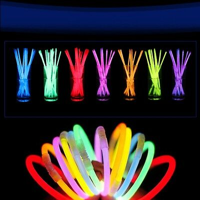 Wholesale Glow Light Sticks Bracelet Necklace Multi Colorful Neon Party Shinning