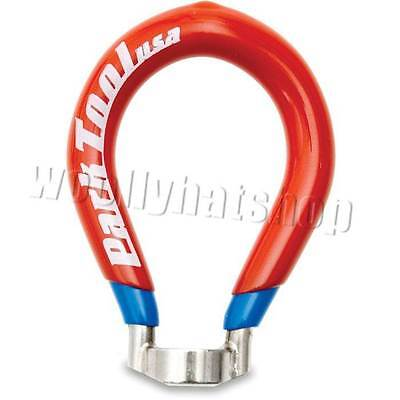 Park Tool Wheel Spoke Bicycle Wrench Red Blue 4 Sided 0.136 Inch Nickel Plated