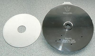 "Kingpin Royalty 4 7/8"" Fishing Reel replacement Back Plate"