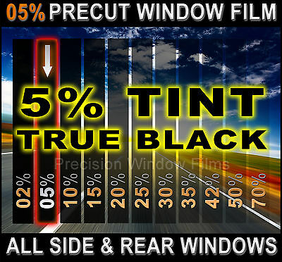 PreCut All Sides & Rears Window Film Black 5% Tint Shade for Ford  F-350 Trucks